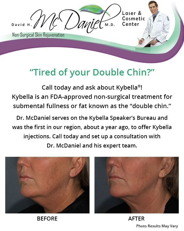 Tired of Your Double Chin? Contact Us Today!
